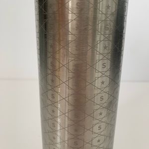 Starbucks Kitchen - Starbucks Silver Reusable Coffee Tumbler 16 oz
